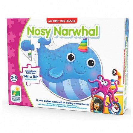 Primul meu puzzle de podea - Narval, The Learning Journey