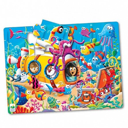 Primul meu puzzle de podea - Prietenii oceanului, The Learning Journey