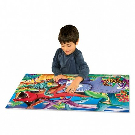 Puzzle Straluceste in intuneric - Dinozauri, The Learning Journey