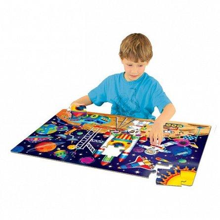 Puzzle mare de podea - In spatiu, The Learning Journey