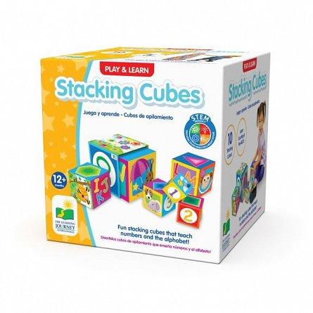 Jucarie de stivuit cuburi, The Learning Journey