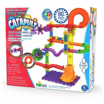 Set constructie Techno Gears Marble Mania - Catapulta, The Learning Journey