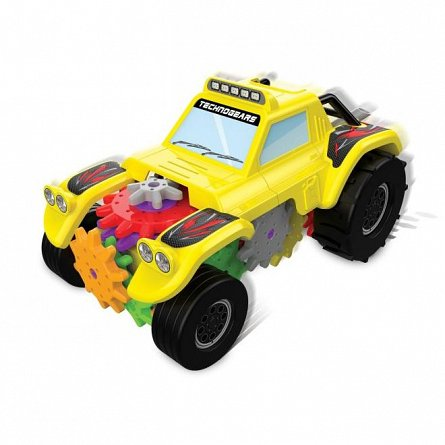 Set constructie Techno Gears - Masina Off Road, The Learning Journey