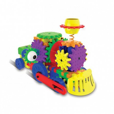 Set constructie Techno Gears - Tren, The Learning Journey
