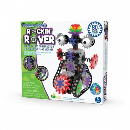 Set constructie Techno Gears - Robot, The Learning Journey