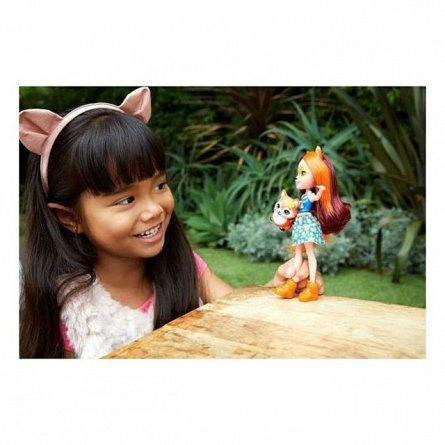 Papusa Enchantimals -  Felicity Fox si Flick