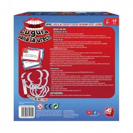 Joc Cu gura pana la urechi, pentru copii si adulti, AS Games