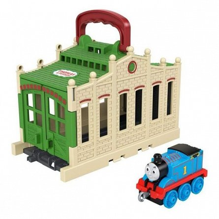 Gara Tidmouth, Thomas and Friends - Connect and Go, Sheds