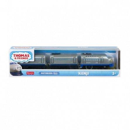 Locomotiva motorizata Thomas and Friends - Kenji, cu 2 vagoane si accesorii
