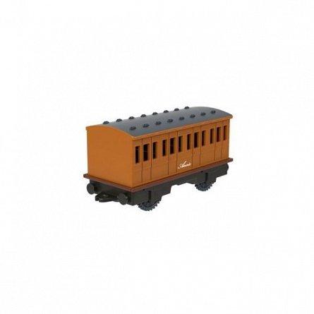 Locomotiva motorizata Thomas and Friends - Thomas, cu 2 vagoane Annie si Clarabel