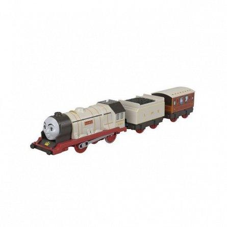 Locomotiva motorizata Thomas and Friends - Ducele, cu 2 vagoane si accesorii