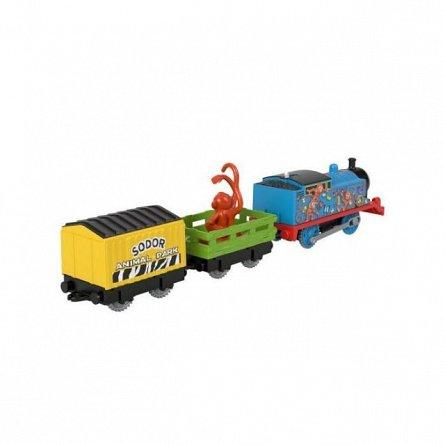 Locomotiva motorizata Thomas and Friends - Safari, Monkey Thomas