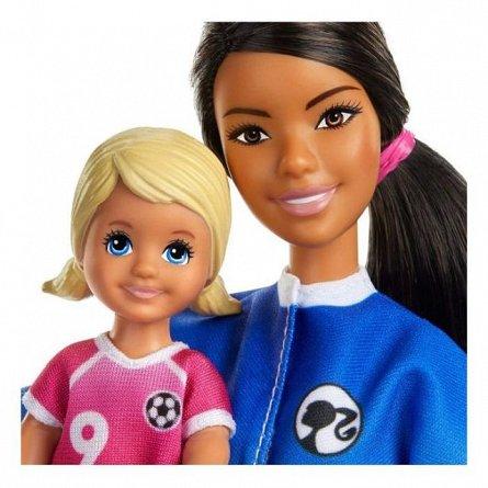 Papusa Barbie You can be - Antrenor de fotbal bruneta