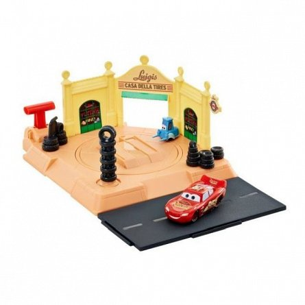 Set de joaca Cars - Vulcanizare Luigis Tire Shop