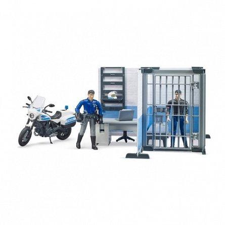 Statie de politie cu motocicleta, Bruder