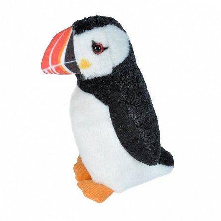 Plus Wild Republic cu sunet - Papagal de Mare, Atlantic Puffin, 13 cm