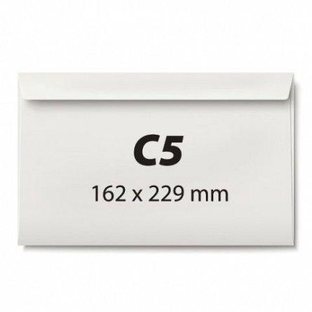 Plic C5,alb,siliconic,80g/mp,25/set