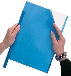 Plic pentru sina prindere, Durable, albastru
