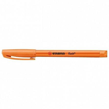 Textmarker Stabilo Flash, portocaliu