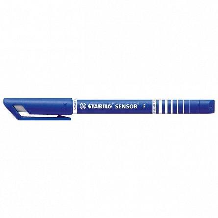 Liner Stabilo Sensor, 0.3mm, albastru