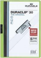 DURACLIP ORIGINAL 60 PT. 60 FOI, VERDE