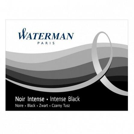 Patroane cerneala Waterman,negru,8buc/set