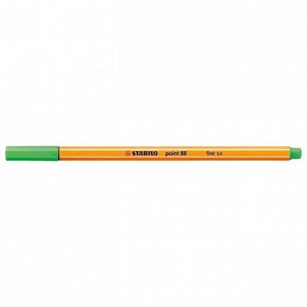 Liner Stabilo Point 88,0.4mm,vernil