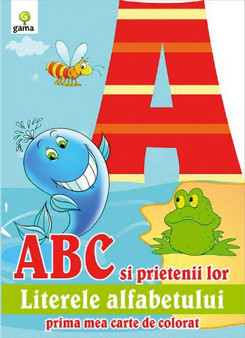 ABC SI PRIETENII SAI/ COLORAT A4.10
