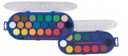 Acuarele Morocolor,2 2 culori,diam.30mm