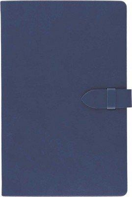 Agenda 13x21cm,Tucson clasp,240p,dict,albastru