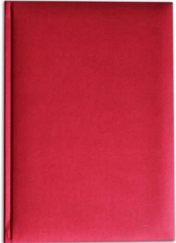 Agenda A5,nedatata,Bristol,224p,rosu coral