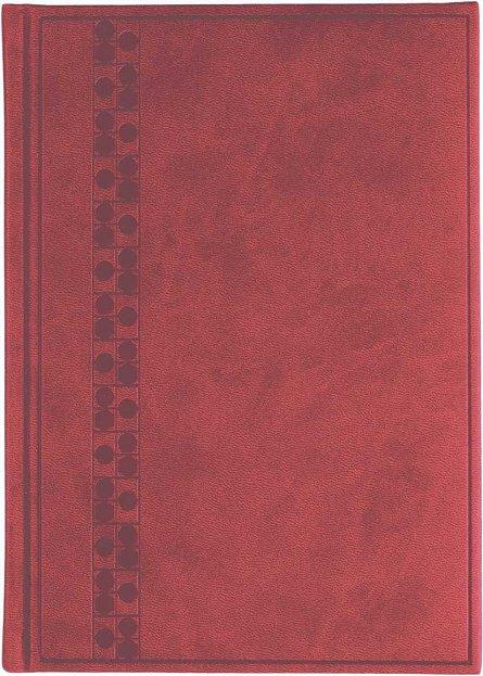 Agenda A5,nedatata,Bristol,224p,rosu cardinal