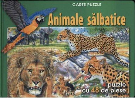 ANIMALE SALBATICE - PUZZLE