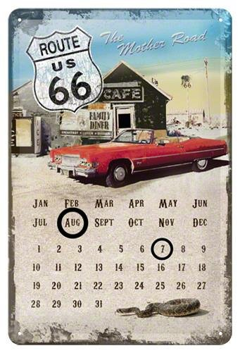 CALENDAR 20x30 MOTHER ROAD