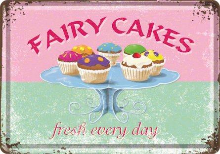 CARTE POSTALA FAIRY CAKES