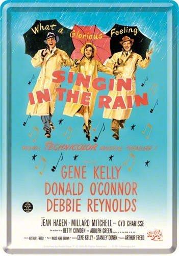 CARTE POSTALA SINGING IN THE RAIN