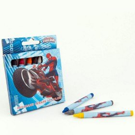 Creioane cerate 12buc/set,Spiderman