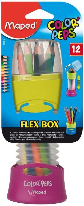 Creioane colorate,12b/set,suport,Maped