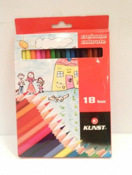 Creioane colorate,18b/set,Kunst
