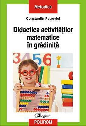 DIDACTICA ACTIVITATILOR MATEMATICE IN GRADINITA