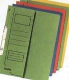Dosar A4 incopciat 1/2,Falken,verde