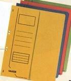 Dosar A4 cu gauri 1/2,Falken,verde