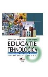 EDUCATIE TEHNOLOGICA - CLASA A V-A