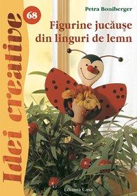 FIGURINE JUCAUSE DIN LINGURI DE LEMN IDEI CREATIVE 68