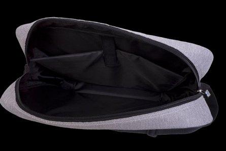 Geanta umar,Pixie,40x30x8cm,gri