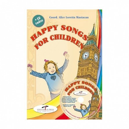 HAPPY SONGS FOR CHILDREN REEDITARE