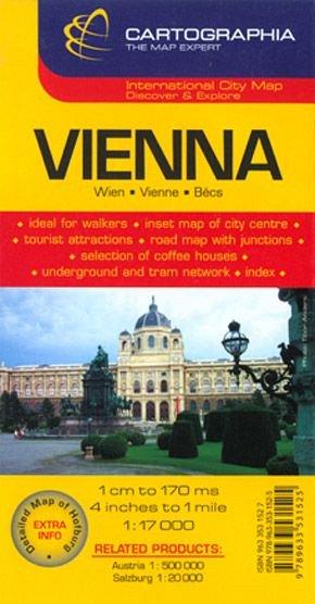 Harta Rutiera Viena 1 17 000 De Diverta
