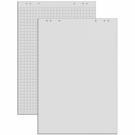 Hartie flipchart, 100 x 65 cm , 70 g, velin, 20 coli, RTC