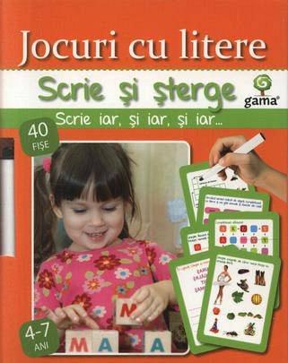 JOCURI CU LITERE/ SCRIE SI STERGE