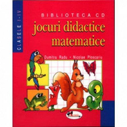 Jocuri didactice matematice, Dumitra Radu, Nicolae Ploscariu